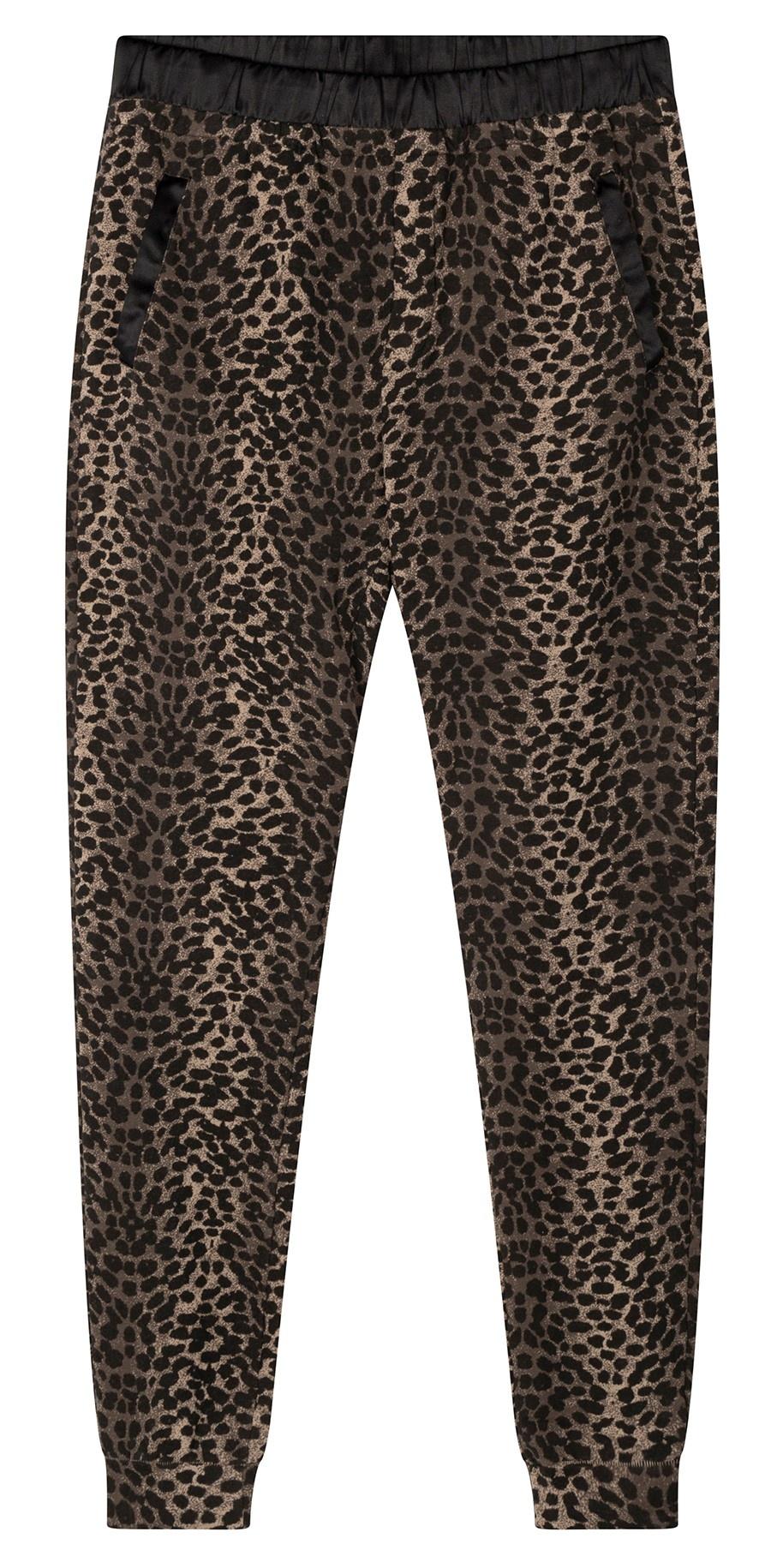 Broek jogger leopard camo desert taupe-2
