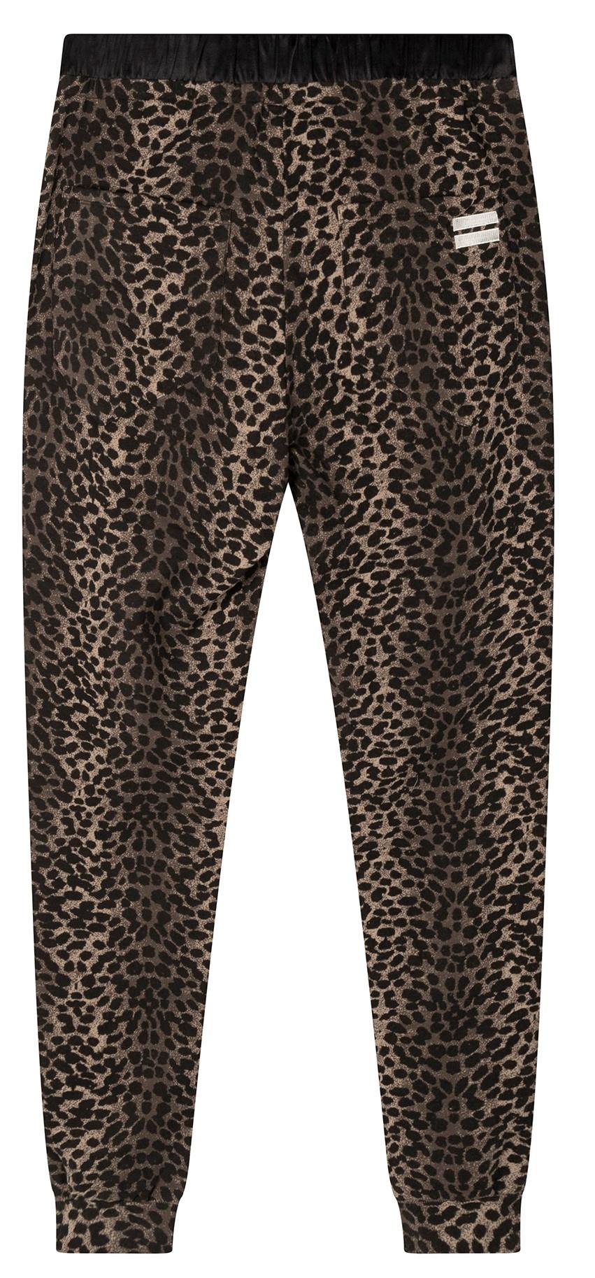 Broek jogger leopard camo desert taupe-5