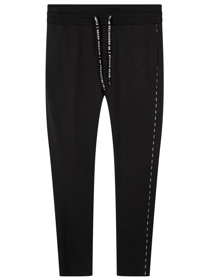 Broek banana pants black