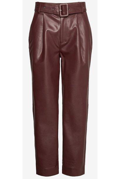 Broek Aria Trousers Reddish Brown