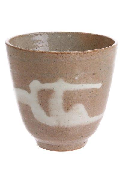Mok kyoto ceramics: japanese yunomi mugs light pink