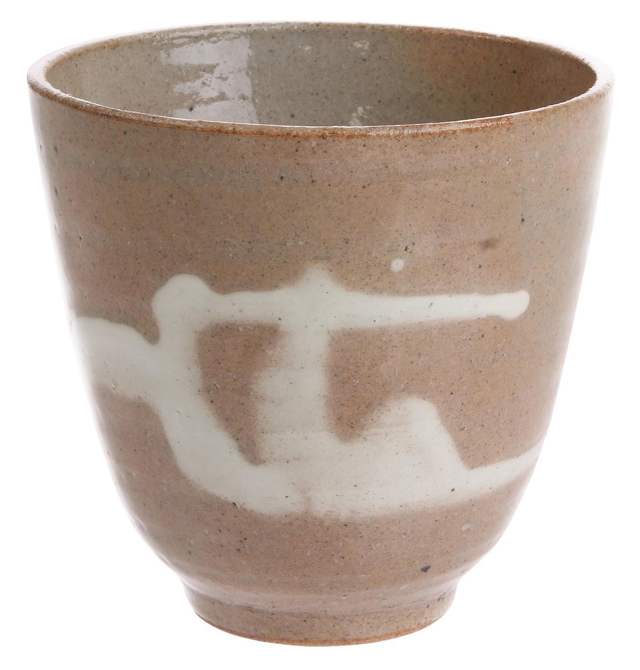 Mok kyoto ceramics: japanese yunomi mugs light pink-1