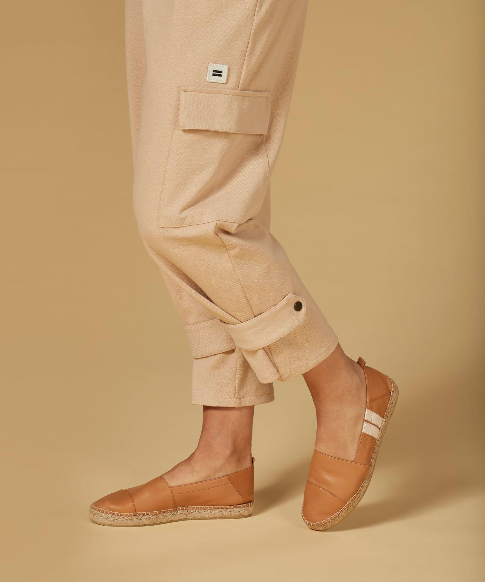 Broek Utility pants soft beige-5