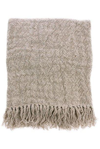 Woondeken linen throw 130x170cm natural