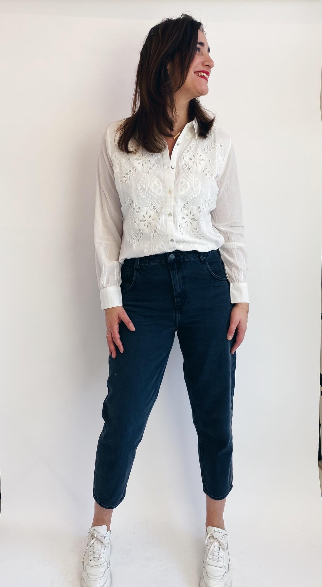 Blouse CRkallie shirt snow white-3