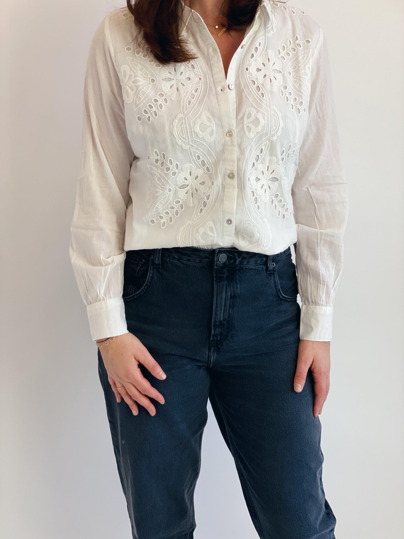 Blouse CRkallie shirt snow white-1