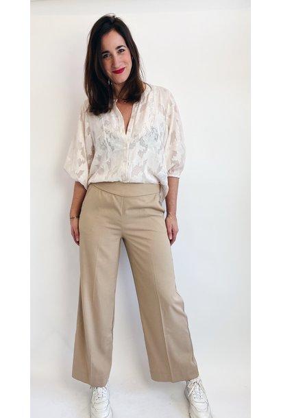 Broek KAeliama HW wide pants nomad
