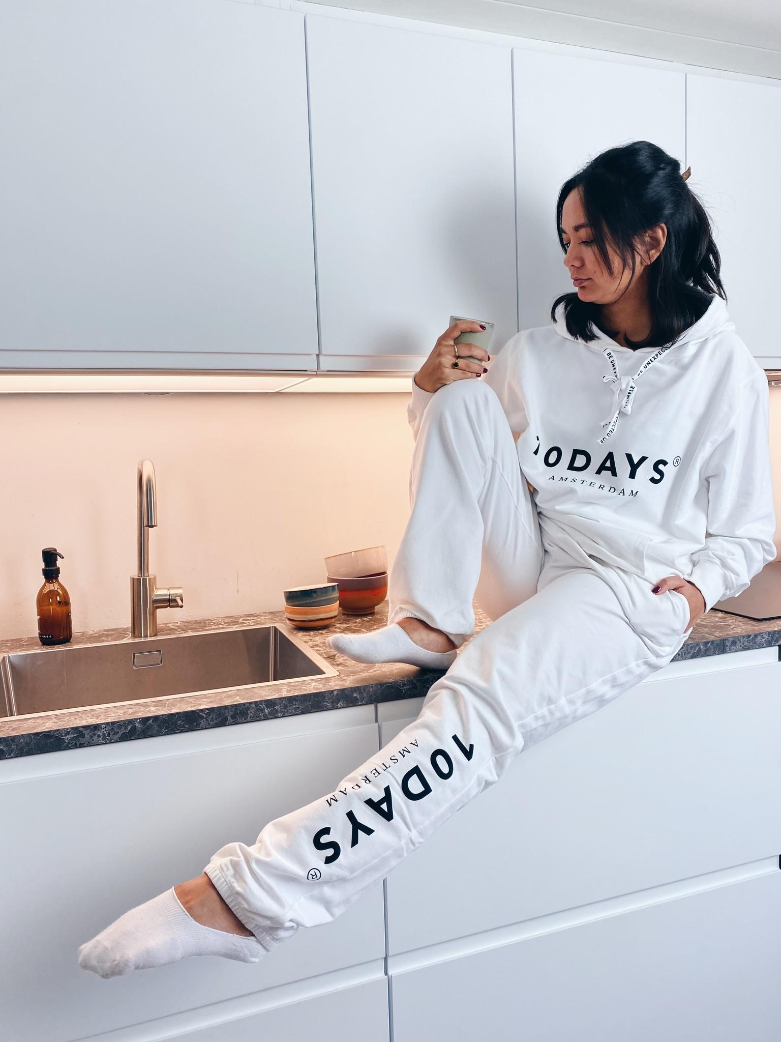 Trui the hoodie white NOOS-3