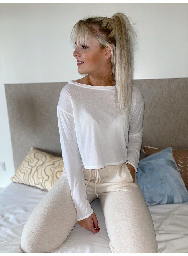 Sweater Vegiflower blanc