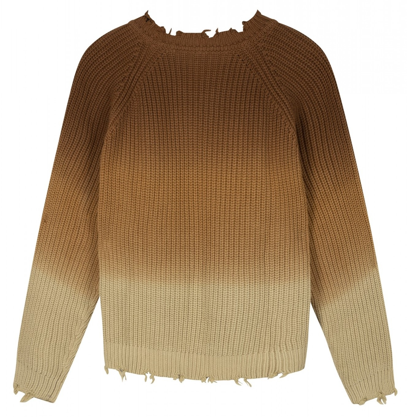 Trui sweater degrade dark caramel-4