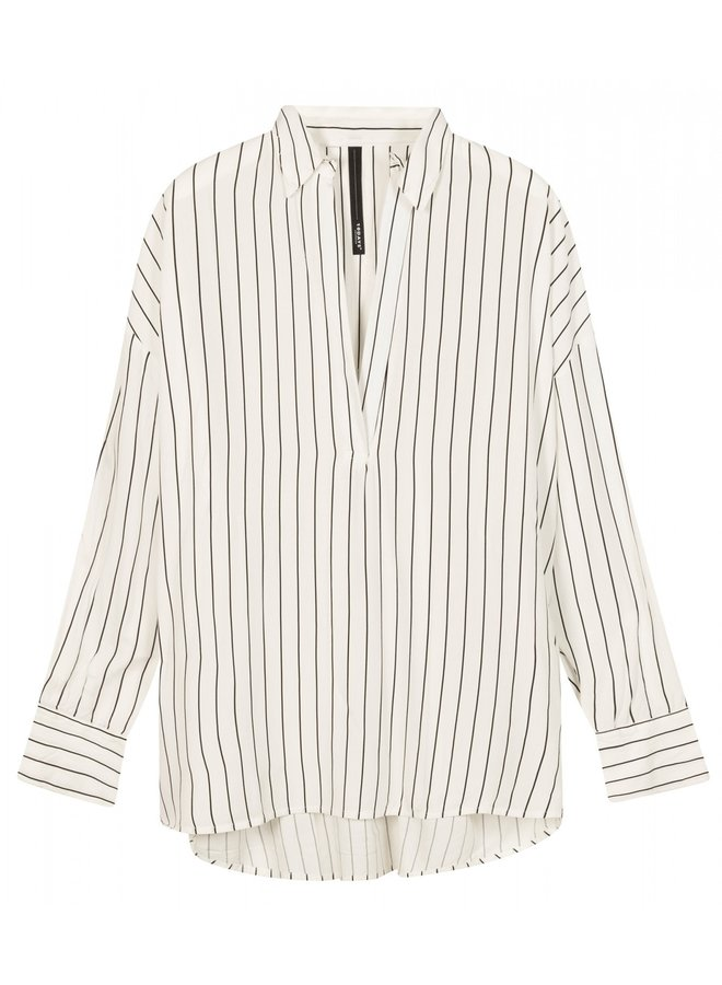 Blouse Pinstripe white