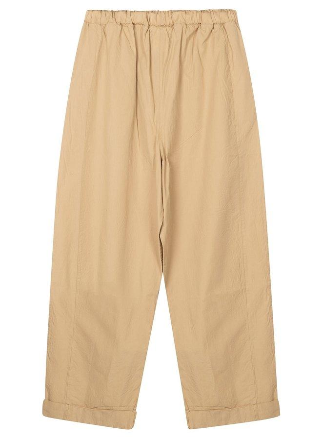 Broek Oversized pants soft beige