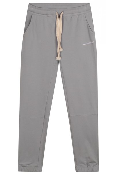 Broek cropped jogger faded grey blue