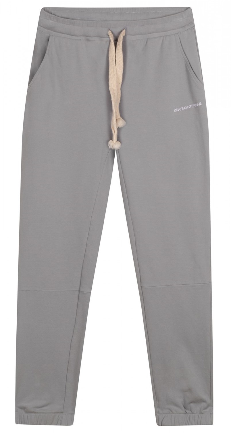 Broek cropped jogger faded grey blue-1