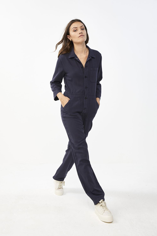 Jumpsuit Emma suit vintage blue-3