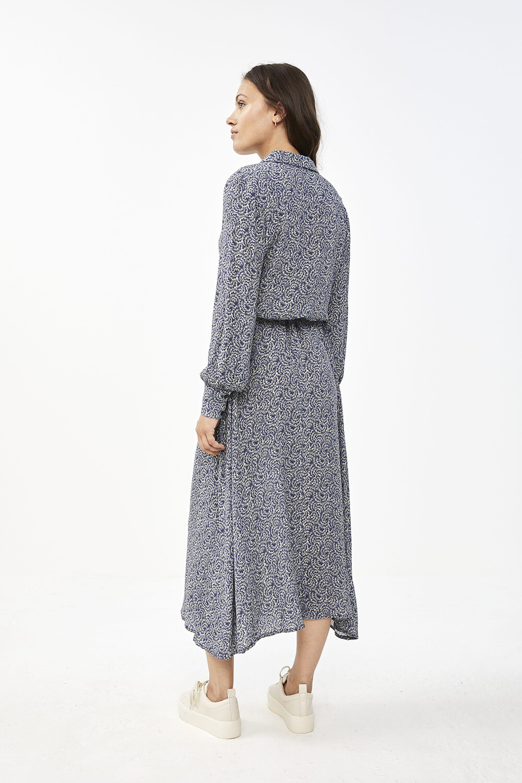 Jurk Yara botanic dress blue-6