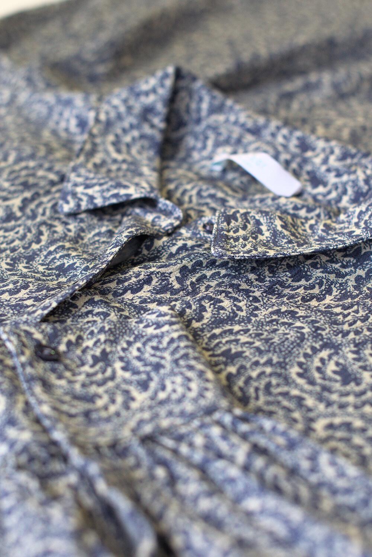 Jurk Yara botanic dress blue-4