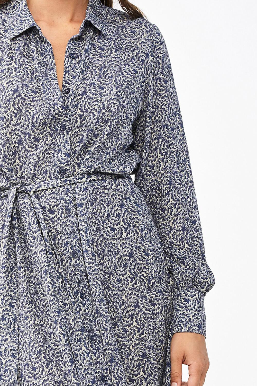Jurk Yara botanic dress blue-7
