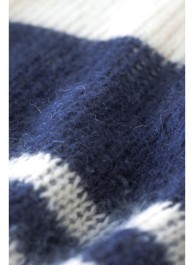Trui Evi astro pullover option blue