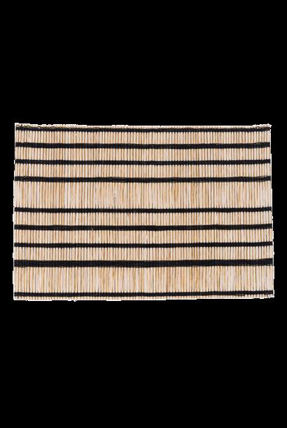 Placemat Banana striped natural