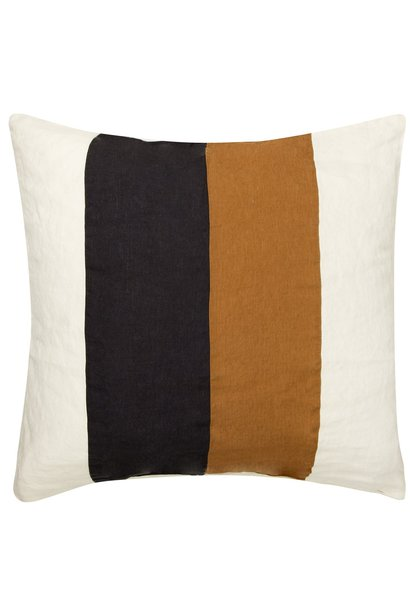 Kussenhoes Linen pillow square winter white