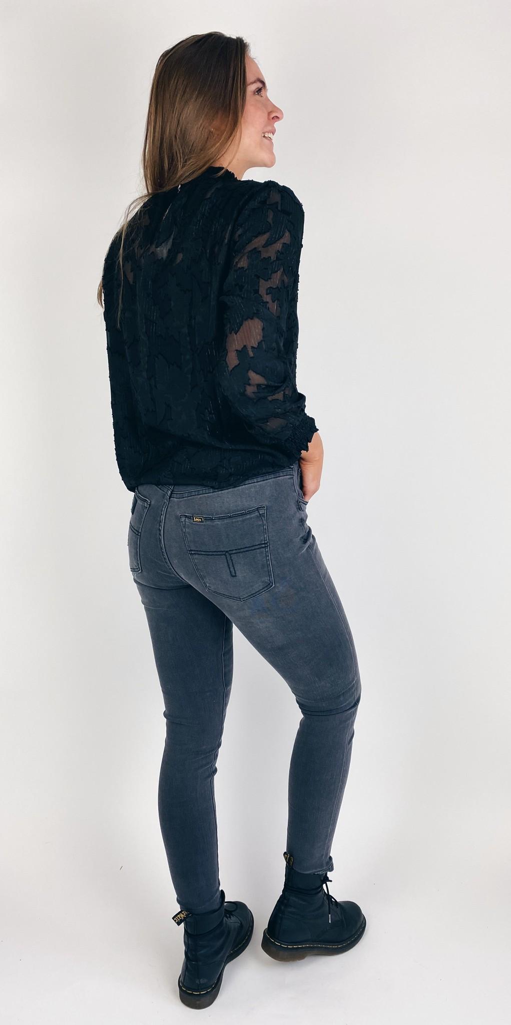 Jeans Celia power black Lengte 34 grey stone-4