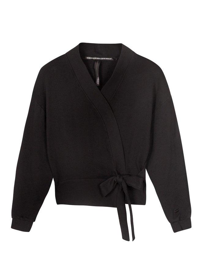 Vest Kimono cardigan black