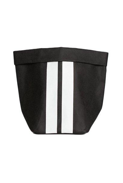 Zak the paper bag S black