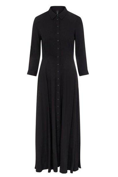 Jurk Yassavanna long shirt dress noos black