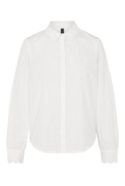Blouse Yasbella 7/8 shirt bright white