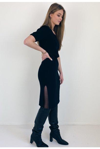 Rok Yasbernina midi skirt black