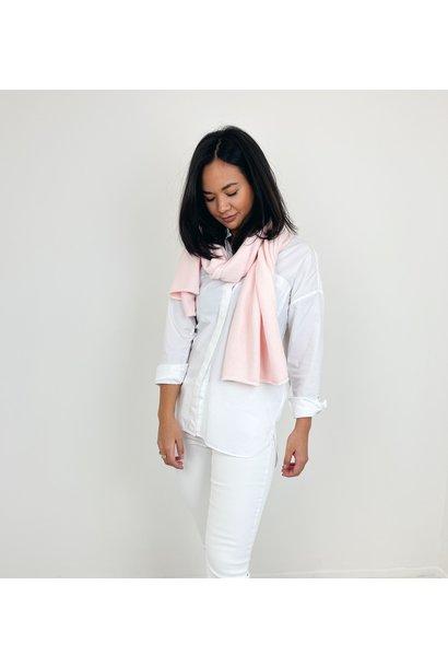 Sjaal viscose baby roze
