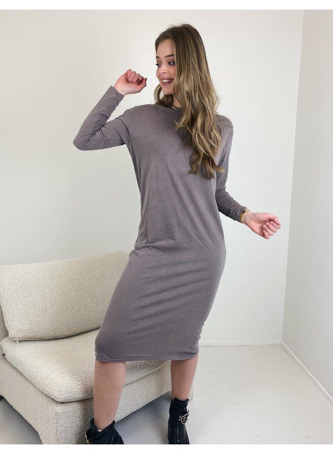 Sweater long Vegiflower cacao