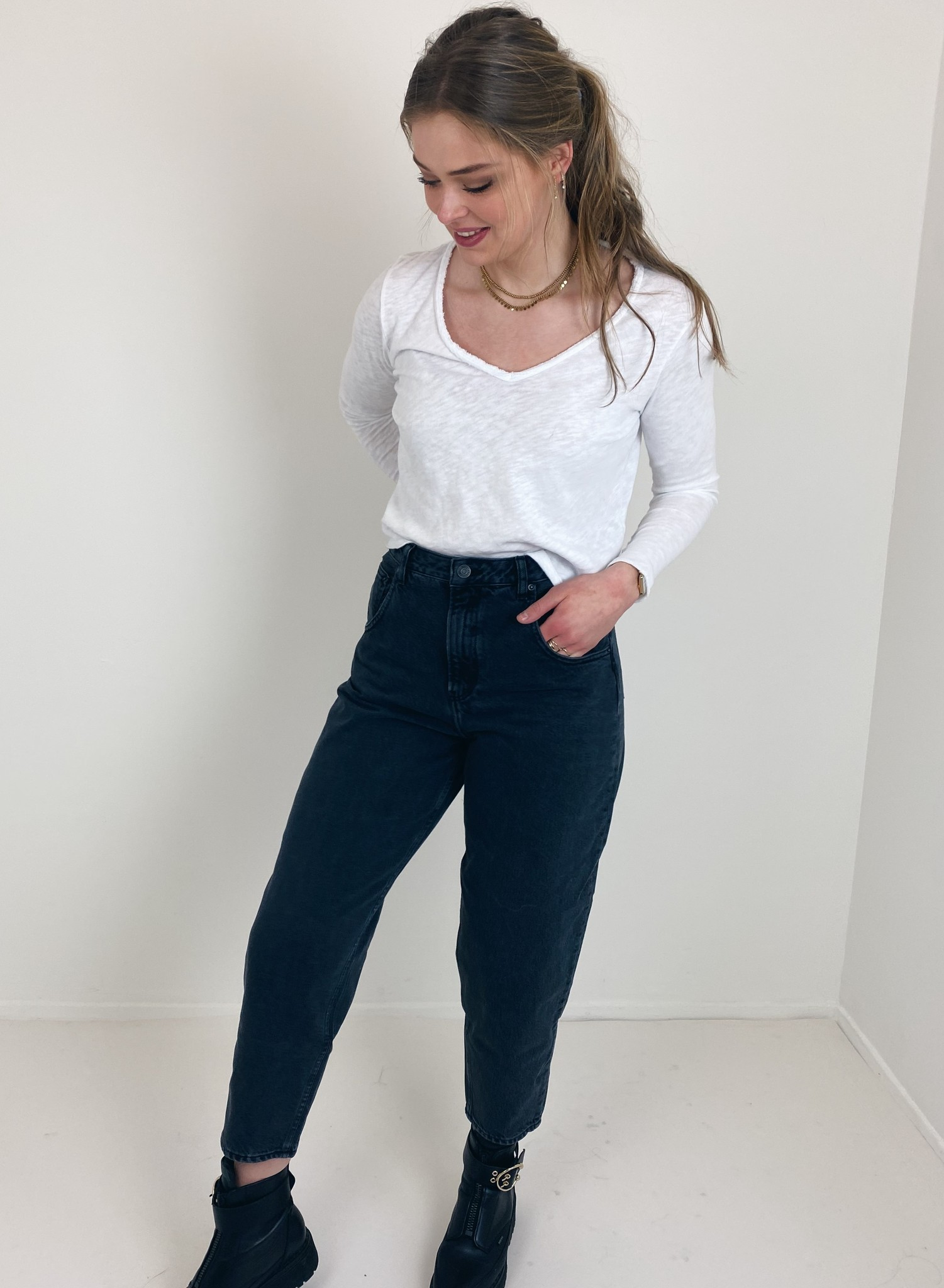 T-shirt Sonoma blanc-1