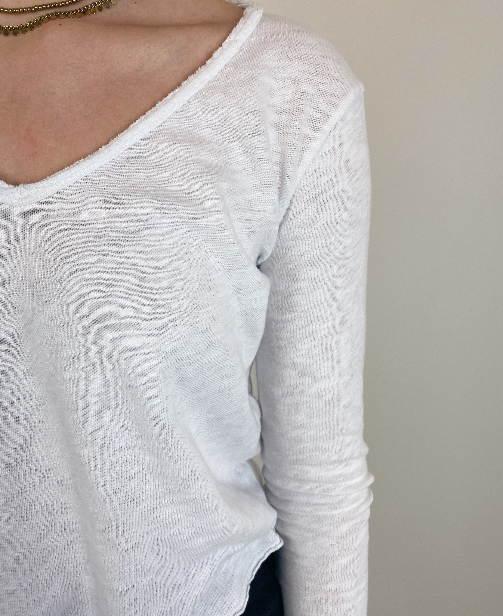 T-shirt Sonoma blanc-3