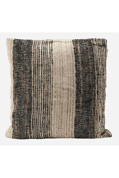 Kussenhoes cushion cover linn grey 50x50