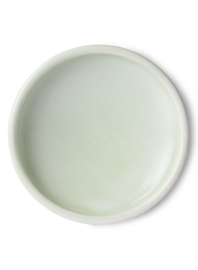 Bord home chef ceramics side plate mint green