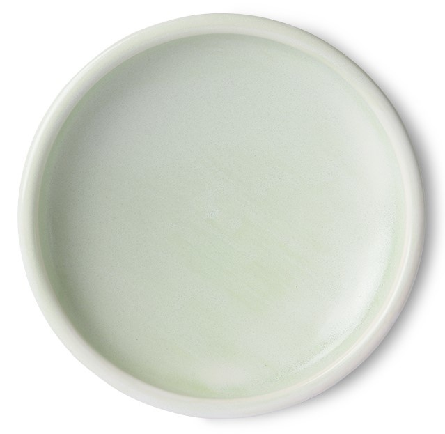 Bord home chef ceramics side plate mint green-1
