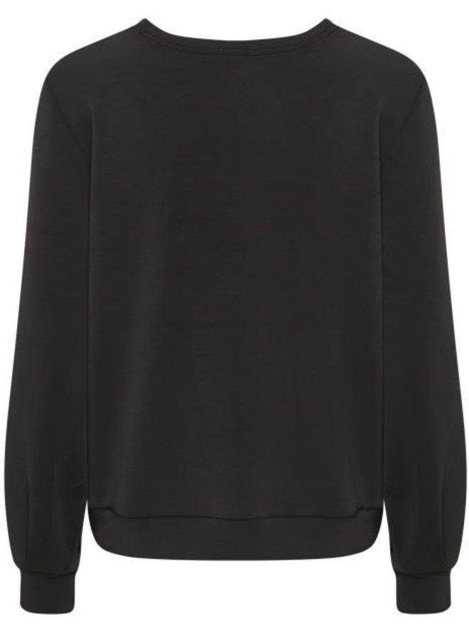 Trui The sweat blouse black