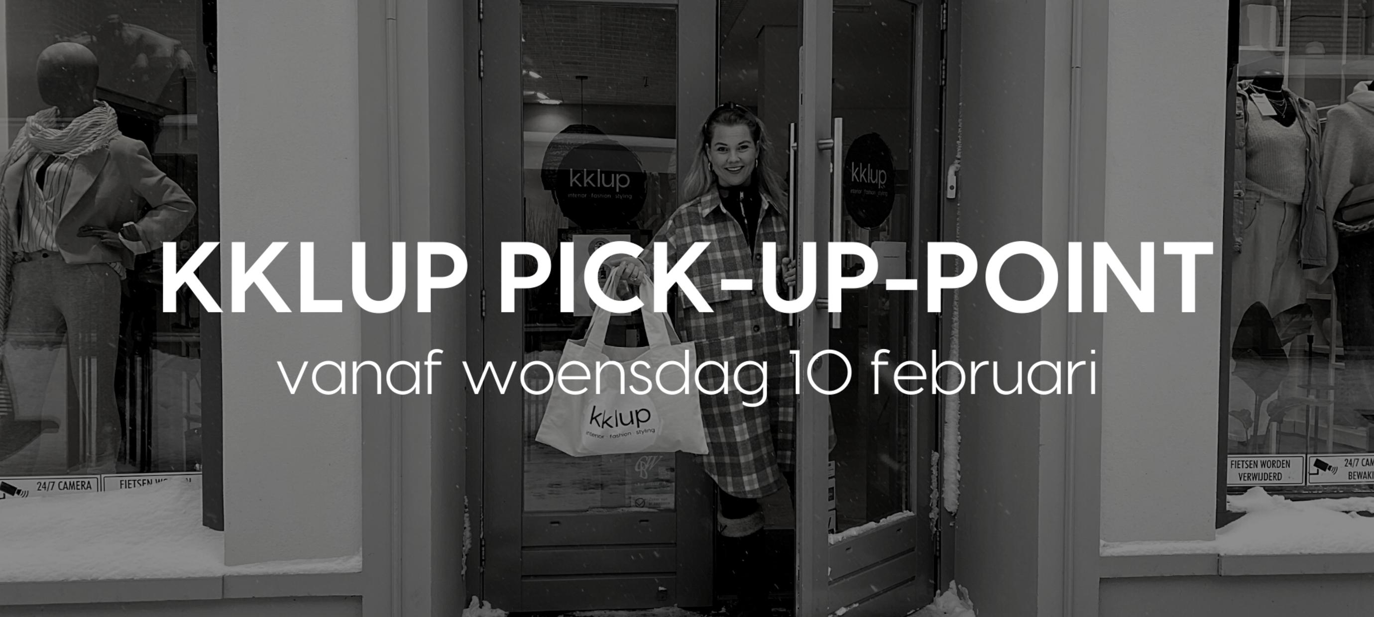 Vanaf 10 februari zijn we open voor afhalen!