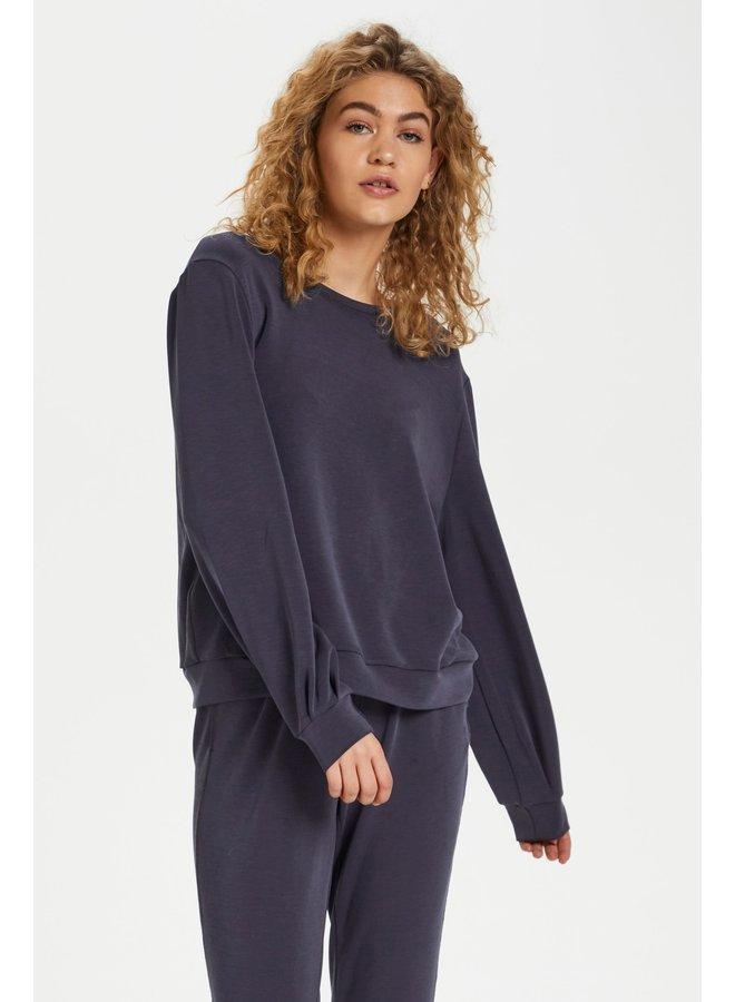 Trui The sweat blouse navy blazer