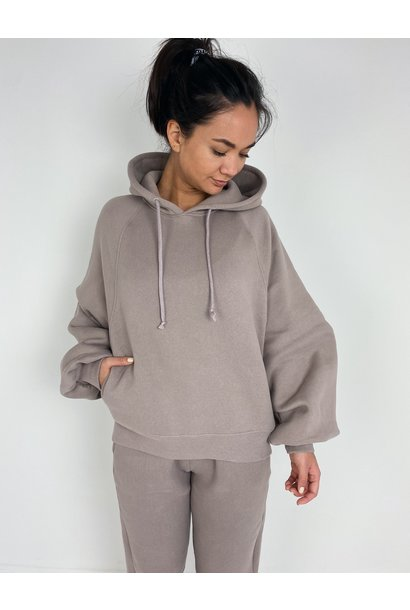 Sweater Ikatown taupe