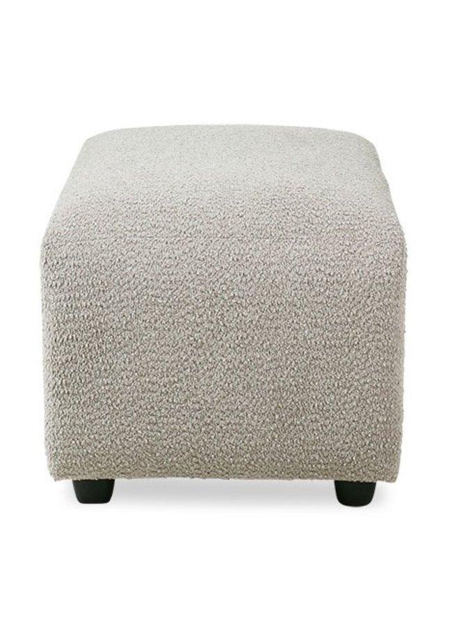Hocker jax couch: element hocker small, ted, stone