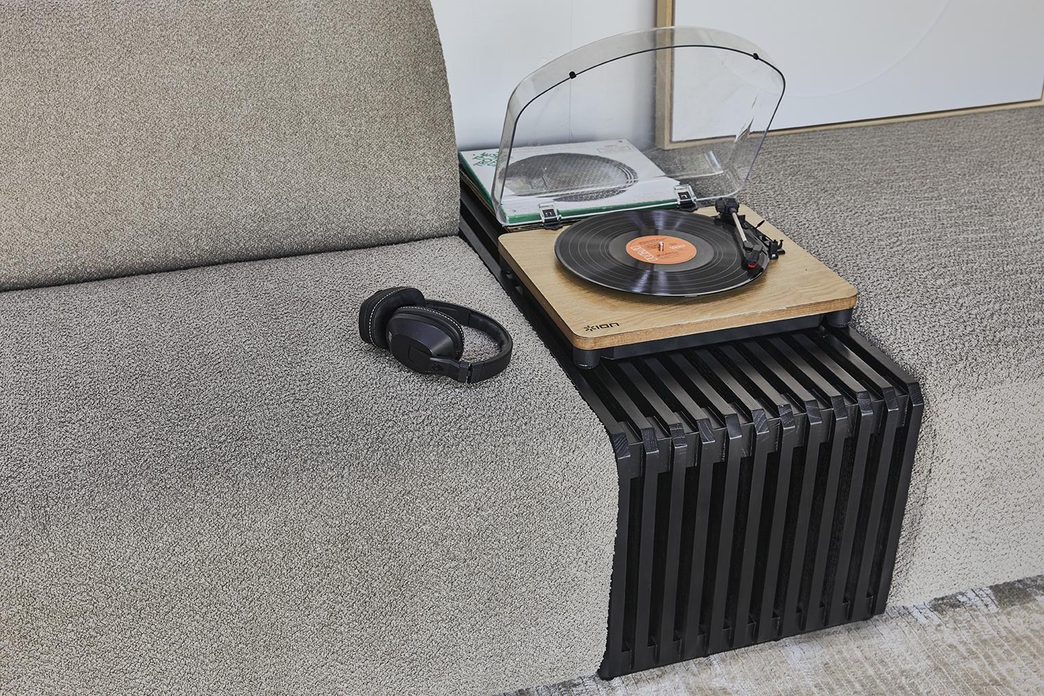 Hocker jax couch: element hocker small, ted, stone-5