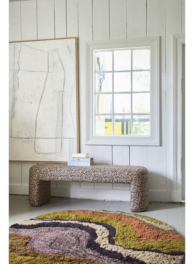 Bank Doris for hkliving: lobby bench floral print