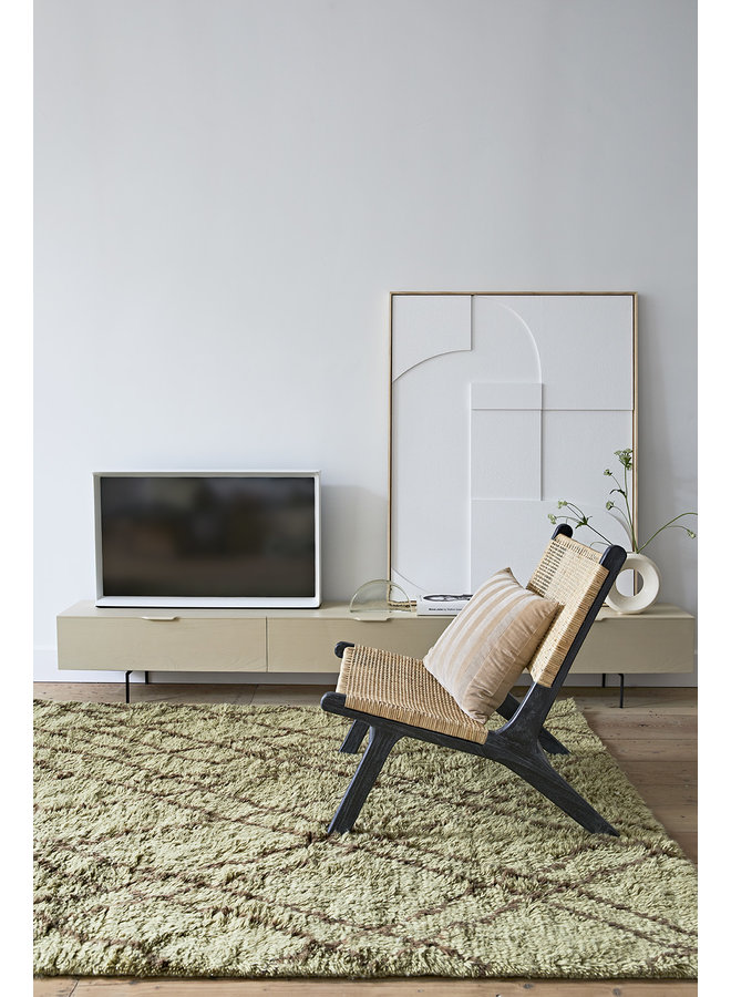 TV-kast cabinet wood grain 250cm sand