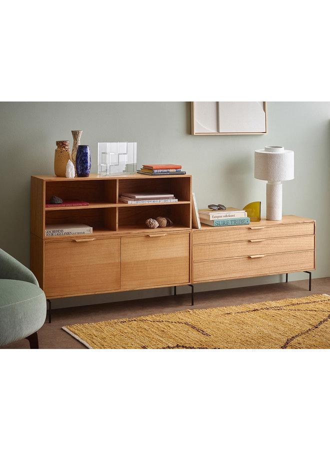 Kast modular cabinet, natural, shelving element a