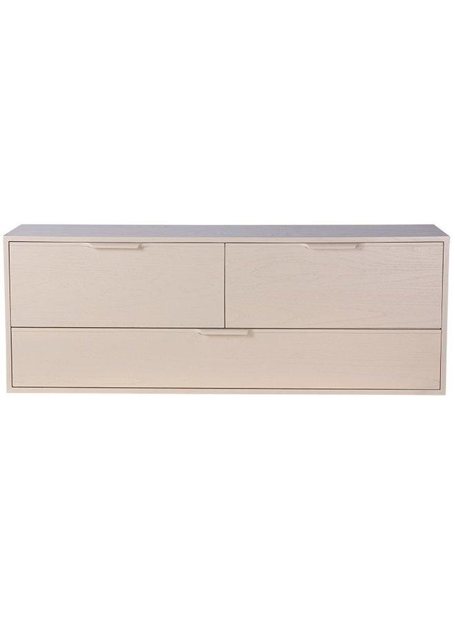 Kast modular cabinet, sand, drawer element d