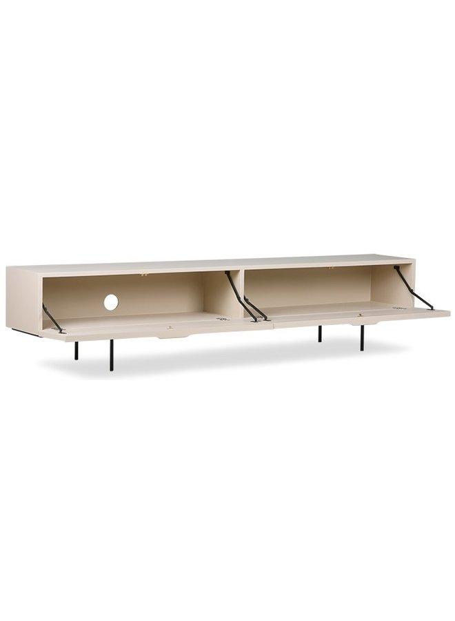 TV-kast  cabinet wood grain 167cm sand