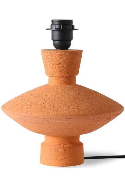 Lampenvoet stoneware lamp base terra